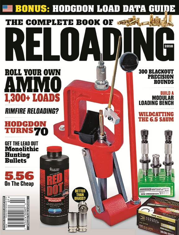 Complete Book of Reloading - 2018 #207